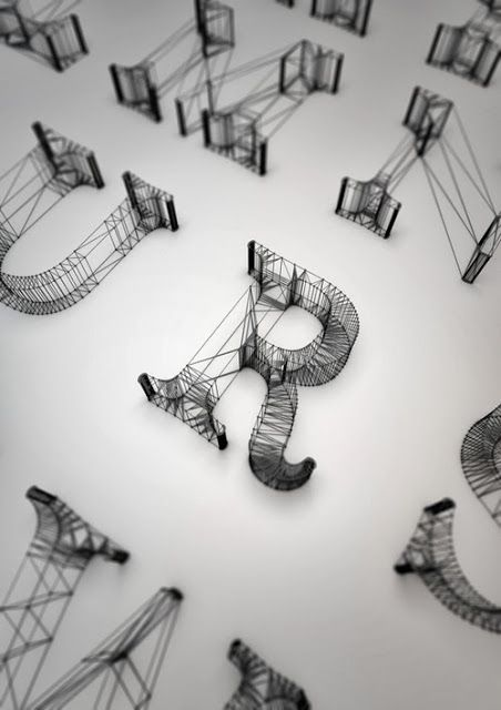Wired typography