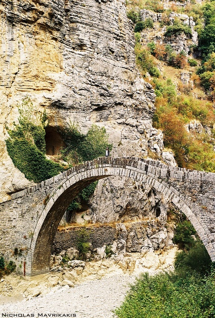 Stone Bridge - Kokorou Bridge, Greece