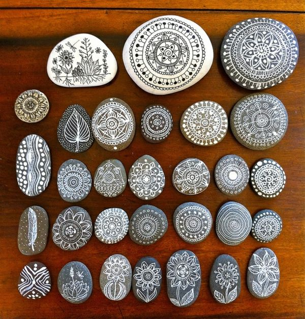 Mandala zum ausdrucken glatt flusssteine
