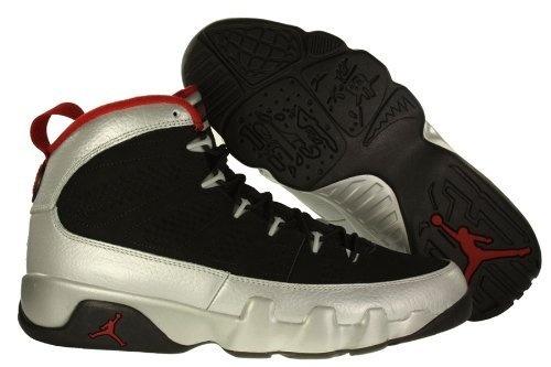 NIKE AIR JORDAN 9 RETRO 302370 012 BLACK/GYM RED-MTLC PLATINUM BASKETBALL SHOE (11) Nike, http://www.amazon.com/dp/B009HB08J6/ref=cm_sw_r_pi_dp_Hn1Cqb003JHMX