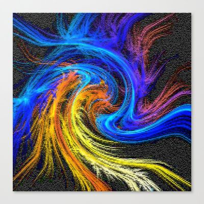 Abstract+15+Stretched+Canvas+by+Peaky40+-+$85.00