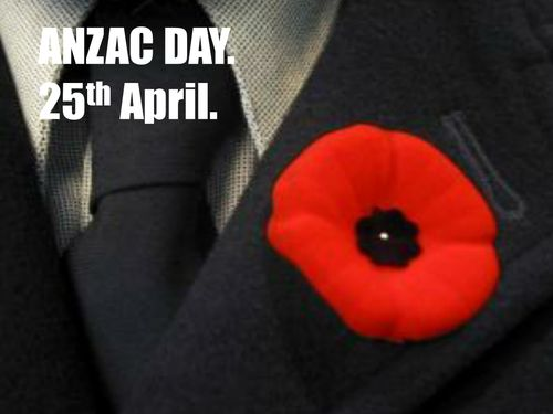 ANZAC Day. What is ANZAC Day and why is it important to New Zealanders and Australians. Powerpoint with key facts and information for the children.