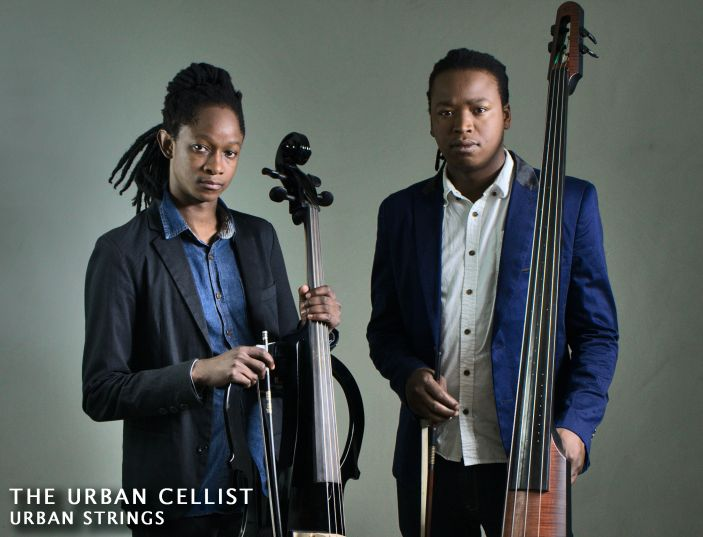 Urban Cellists. There's nothing like this in South Africa. Hip cool professional male instrumentalists, taking their classical and jazz knowledge and grooving along to current trending hits with their swanky electric cellos and basses. It's time for something fresh and nu school.