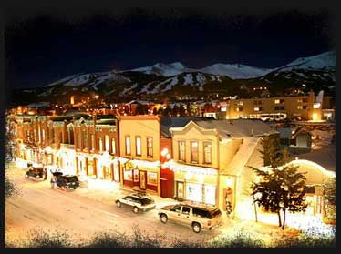 Breckenridge, Colorado Went here on a ski trip. The town is just as wonderful as the picture.