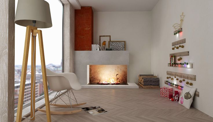 Essential living room. Image created with DomuS3D + V-Ray