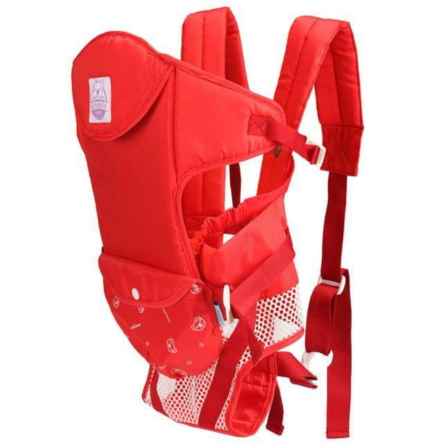 Baby Carriers Adjustable Space Toddler Sling Ergonomic Backpack Suspenders Kangaroo Pouch Wrap 0-20 Months