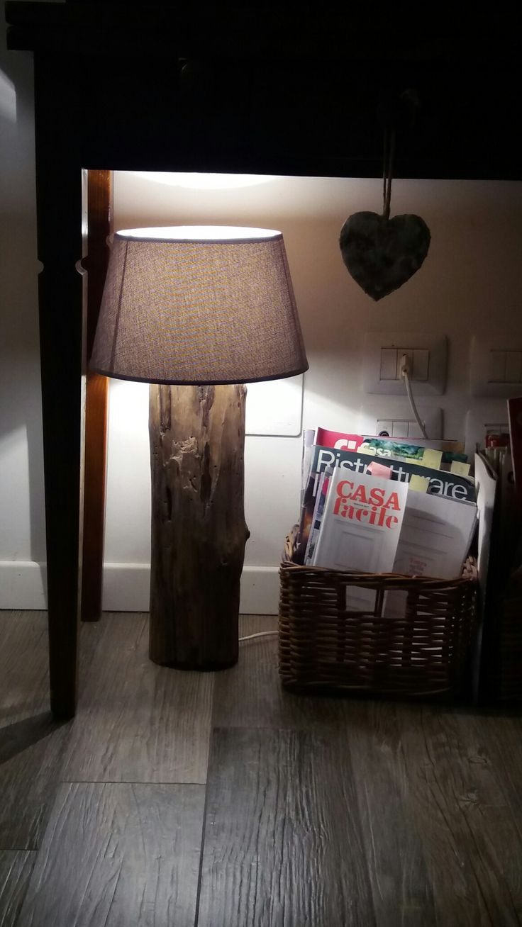 Tronchi di mare #lampade fai da te #casafacile