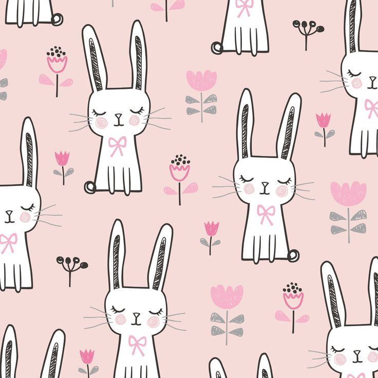 Pets Fabric - Dreamy Bunny Rabbit In Pink By Caja Design - Pets Cotton Fabric By The Yard With Spoonflower by Spoonflower on Etsy https://www.etsy.com/listing/485051514/pets-fabric-dreamy-bunny-rabbit-in-pink