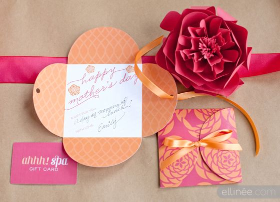 Free printable // Mother's Day Gift Card