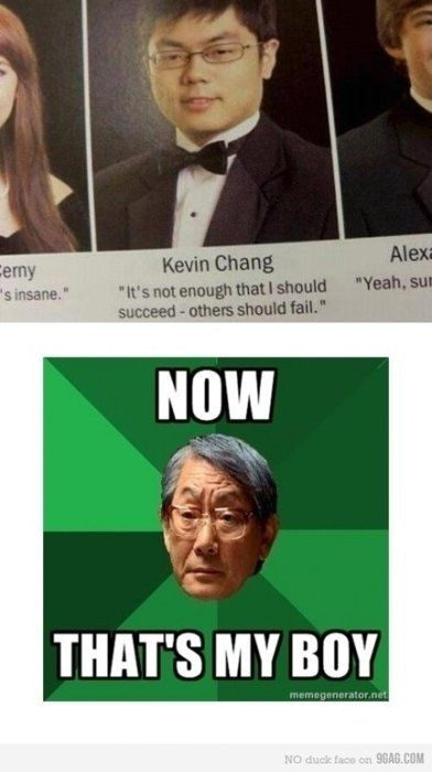 6afebb2007a1c230b21d28947f8b02ed father meme yearbook photos 20 best funny punnies asian memes!!!!! images on pinterest funny,S Meme