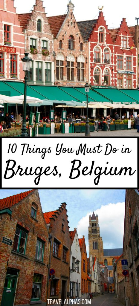 Looking for some Belgium travel inspiration to fuel your wanderlust? If you're visiting Belgium, make sure not to miss Bruges! While there, experience these 10 quintessential things to do in Bruges, and you will be in for an awesome two days. From the city's romantic canals, cobbled streets, and chocolate shops galore, to its bright-colored, centuries-old architecture and scrumptious food, Bruges is a city unlike any other. Here's is our guide to spending two days in Bruges, Belgium!