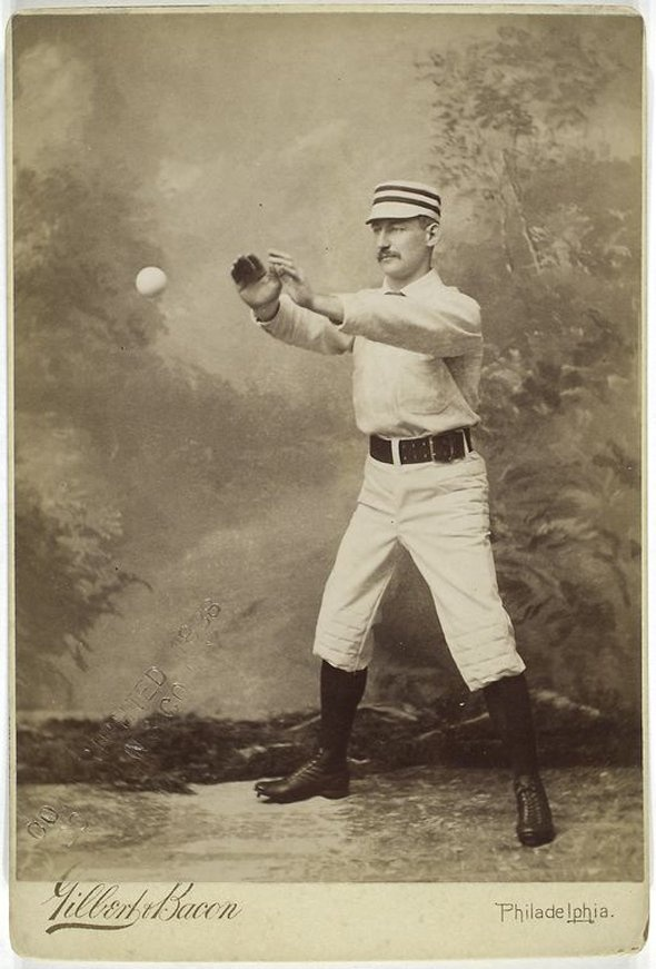 We thought our Kennedy's Fans would appreciate this album of old baseball pictures from the New York Public Library (and some of the mustaches from the 1800s)