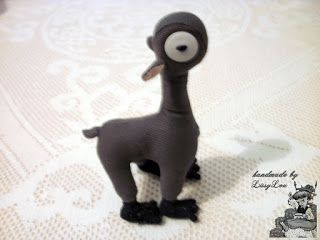 Handmade by Lissy Lou: Mooncalf (inspired by the Harry Potter Series)