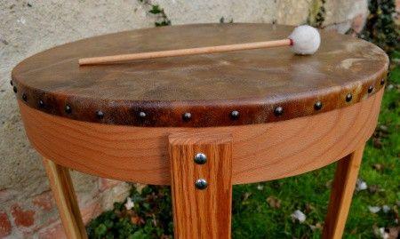 Stolový rámový buben