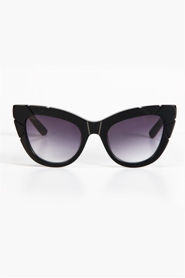 PUSS & BOOTS BLACK SUNGLASSES by PARED