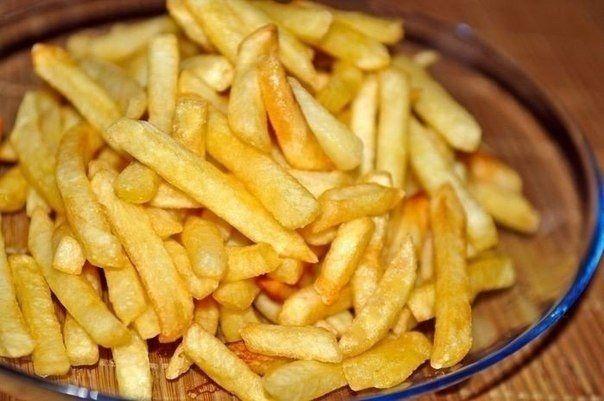 Вкусный картофель фри в духовке