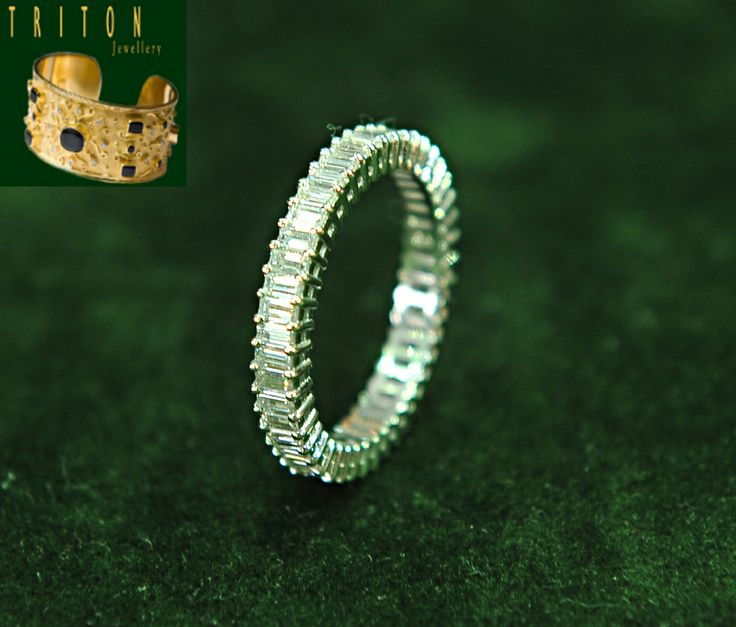 White gold ring (Ref:20014) For more information: http://www.tritonjewellery.com/modern-white-gold-ring-20014.html