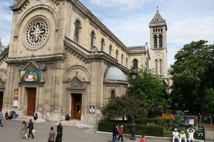 Abbey of Saint-Germain-de Pres. Paris,France