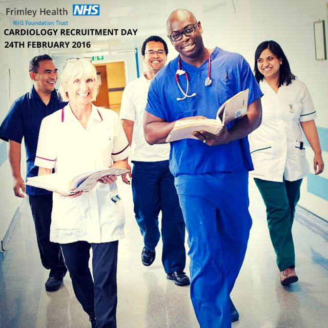 #Cardiology #Recruitment Day - 24th February 2016 at Frimley Health #NHS Foundation Trust