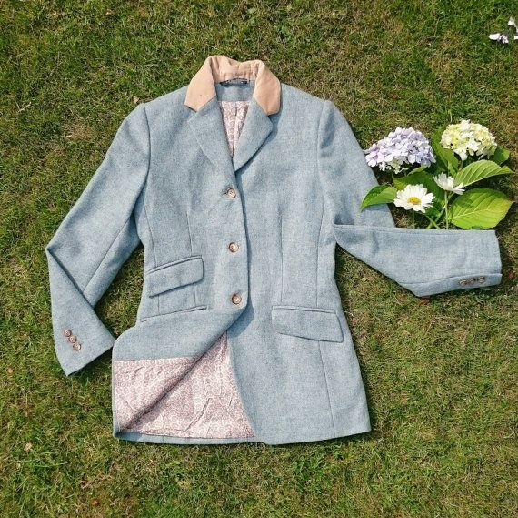 VINTAGE | Vintage Laura Ashley Hacking Jacket |   Available from Deer and Fawn Etsy shop https://www.etsy.com/uk/listing/460053872/vintage-laura-ashley-pure-wool-hacking