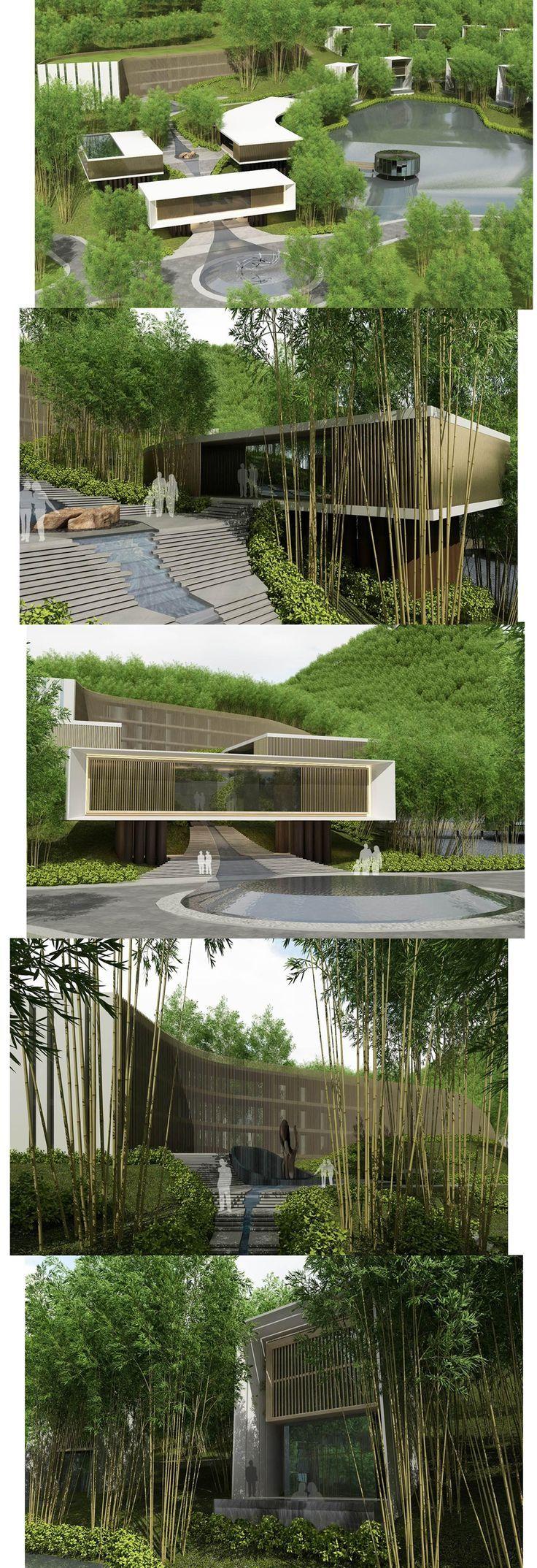 Architecture_Bamboo Resort Hotel_3d_Visualization!