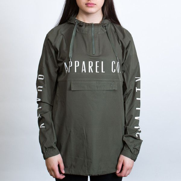 AS Colour Cyrus Windbreaker Jacket Leavers Gear - The Print Room NZ - Army