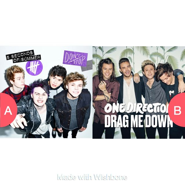 Which boy-band? Click here to vote @ http://getwishboneapp.com/share/19027015