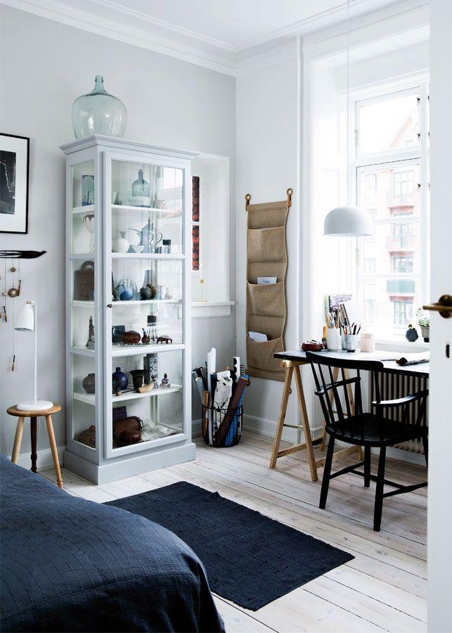 Skab fra lindebjerg design   nordisk look i soveværelset ...