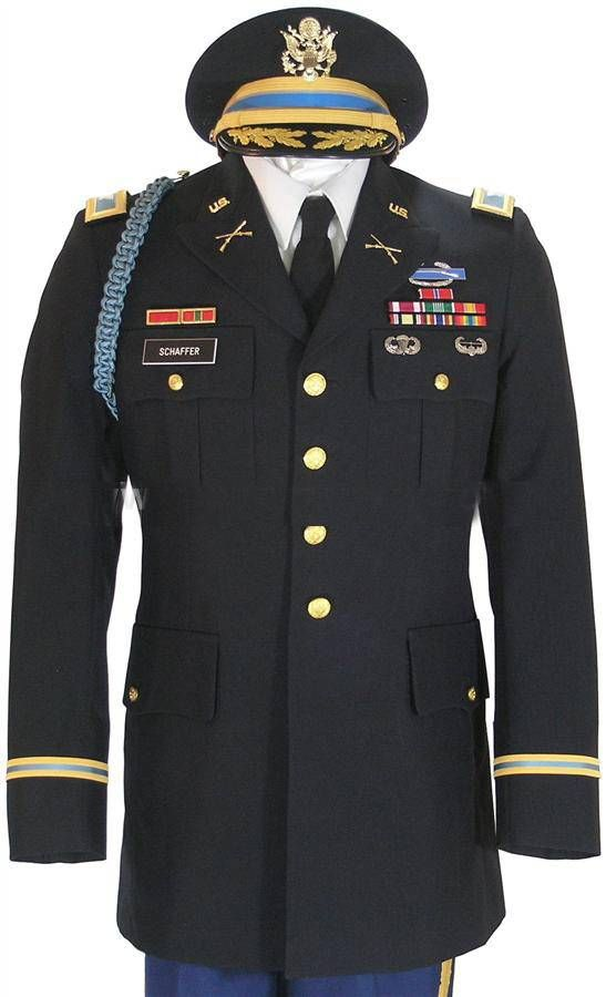 Army dress blues vs class a