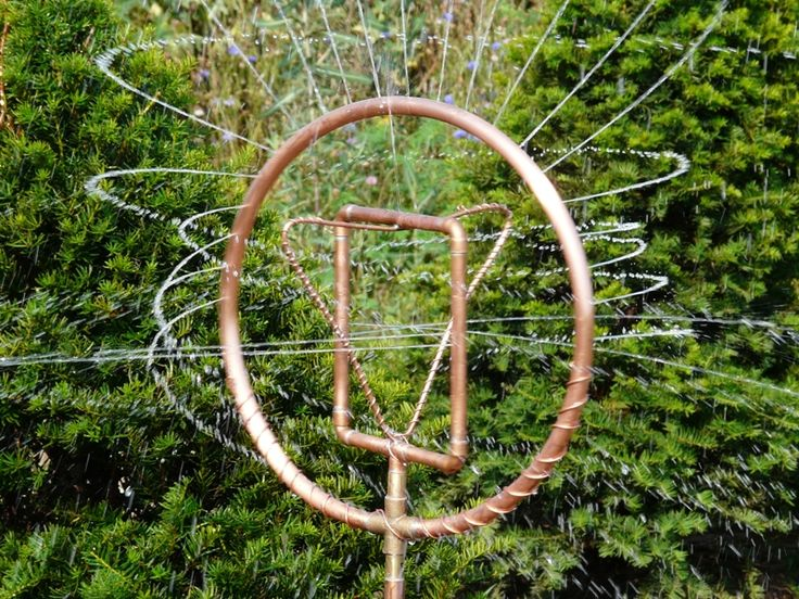 Copper Tubing Art 66 best how to make copper art sprinklers images on pinterest