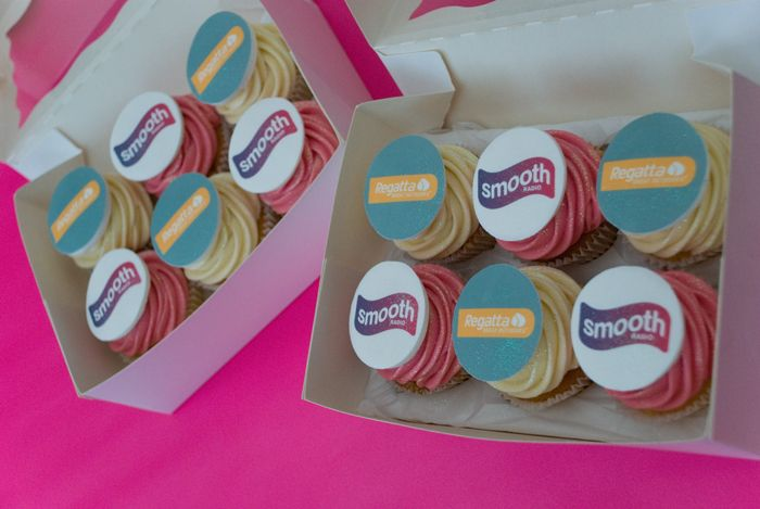 BRANDED CORPORATE CUPCAKES www.frescofoods.co.nz