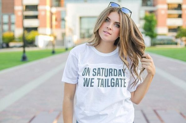 Game Day Ready in the TSL Tailgate Tee | College Game Day | Sorority Apparel | Football Season