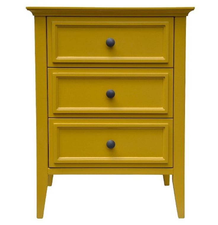 Yellow bedside table (Target)