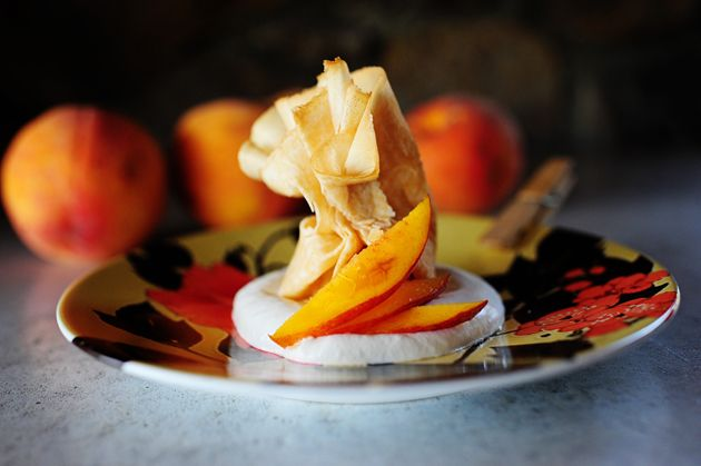 quick and easy peach parcels recipes fruit fruit desserts sweets ...