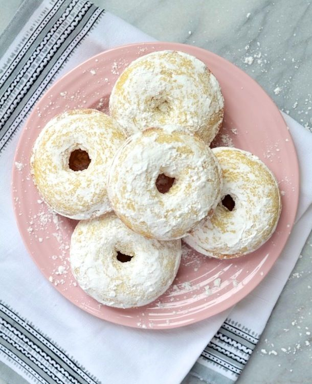 The Perfect Bite :: Buttermilk Baked Donuts