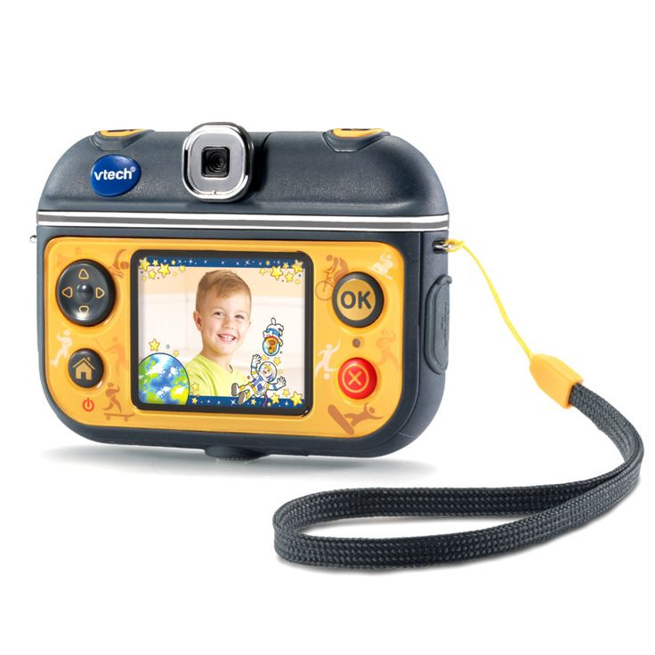 With the included accessories the Kidzoom Action Cam can even be mounted to your child's bike & skateboard allowing them to take great action shots anytime