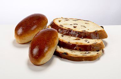 sandwiches en rozijnenbrood