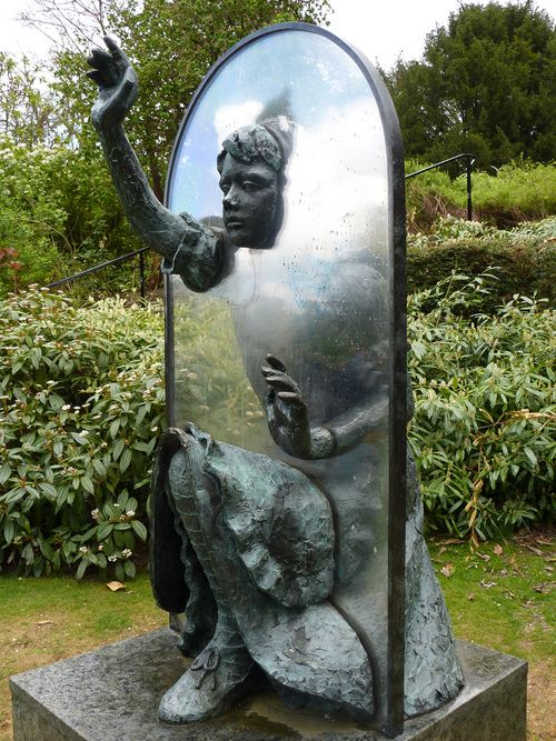Alice Through the Looking Glass.. 'Alice Through The Looking Glass', located at Guildford Castle, Surry, UK