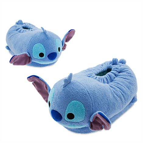 Stitch ''Tsum Tsum'' Plush Slippers for Adults | Disney Store