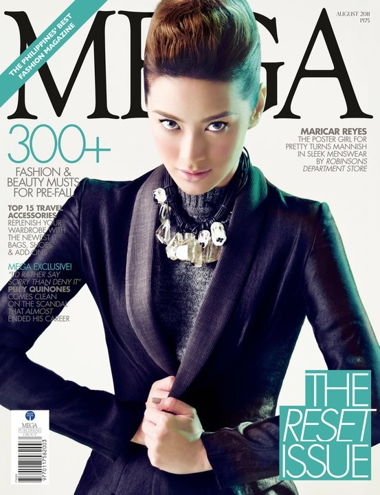 Maricar Reyes for MEGA Magazine looks like Shay Mitchell.