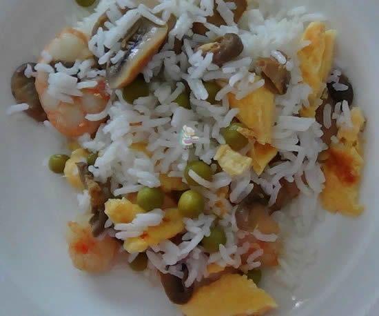 Receta casera de arroz mil delicias