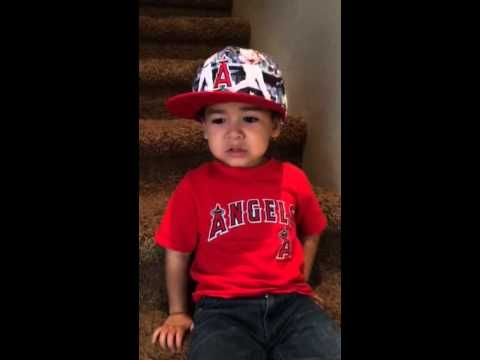 3 year old Angels fan gives me hope for the future - Halos Heaven