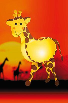 So basteln Sie die perfekte Sankt Martin Laterne. Die lustige Giraffen-Laterne können Sie ganz einfach nachbasteln. Legen Sie gleioch los. Hier gibt es die Anleitung. © Christophorus Verlag