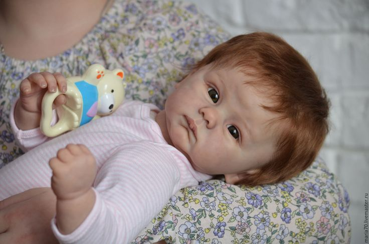Купить Кукла реборн - Коннолли - бледно-розовый, кукла реборн, кукла младенец