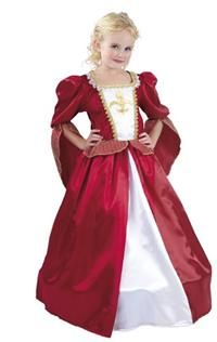 Rönesans Prensesi Kostümü, 7-9 Y