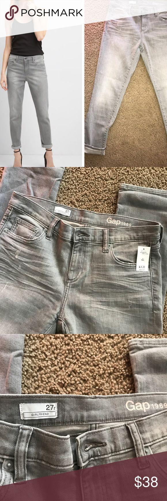 Selling this ⭐️ NWT GAP 1969 Girlfriend Jeans on Poshmark! My username is: hshae1. #shopmycloset #poshmark #fashion #shopping #style #forsale #GAP #Denim