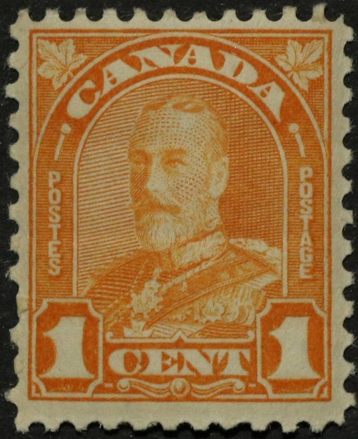 "https://flic.kr/p/RsAvHG | SC #162 - Mint | Canada Postage Stamp 1930 1¢ King George V ""Arch/Leaf"" Issue"