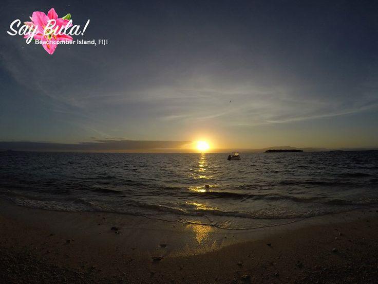 Sunset at Beachcomber Island