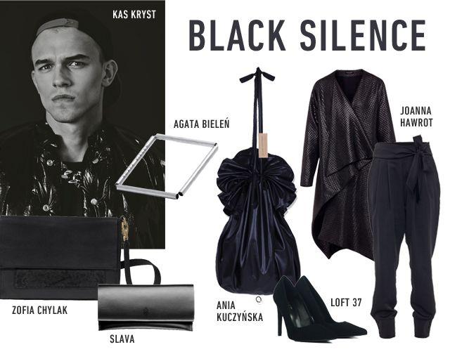 BLACK SILENCE www.hushwarsaw.com #hushwarsaw #trends #polish #fashion #black #silence #slava #zofiachylak #aniakuczynska #agatabielen #joannahawrot