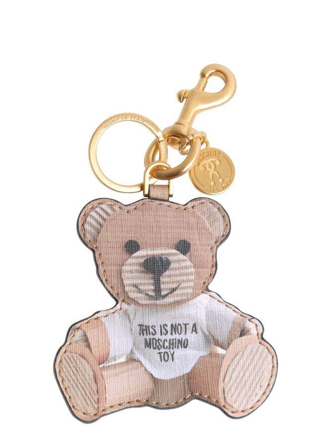 Moschino Teddy Bear Keyfob